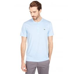 Lacoste Short Sleeve Regular Fit Pima Henley