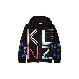 Logo Hoodie Zip-Up Sweatshirt (Big Kids)