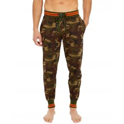 Knit Jersey Covered Waistband Jogger Pants