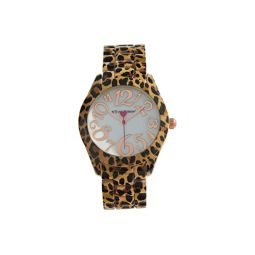 Betsey Johnson Cheetah Watch