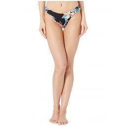 Print Beach Classics Full High-Leg Bikini Bottoms