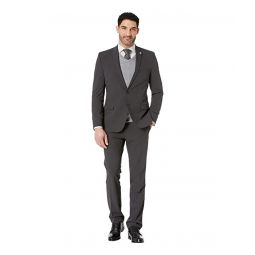Nick Graham Charcoal Solid Suit