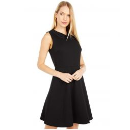Kate Spade New York Lace Collar Ponte Dress