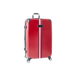 Tommy Hilfiger 28 Basketweave Upright Suitcase