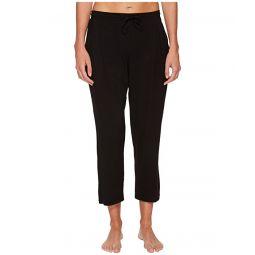 Sleepwear Modal Spandex Jersey Capri Pants