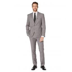 Nick Graham Windowpane Plaid Suit