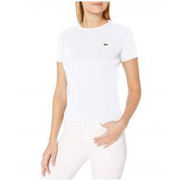 Short Sleeve 1X1 Rib CN T-Shirt
