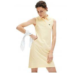 Sleeveless Pique Polo Dress