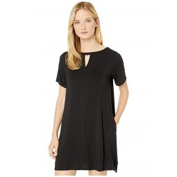 Sleepwear Modal Spandex Jersey Short Sleeve Sleepshirt