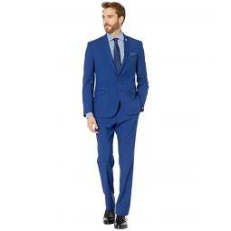 Nick Graham Hot Blue Solid Suit