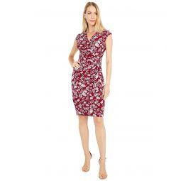 LAUREN Ralph Lauren Rodya Cap Sleeve Day Dress
