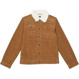 Corduroy Sherpa Lined Jacket (Toddler/Little Kids/Big Kids)