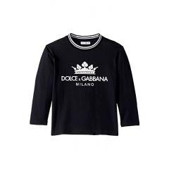 Dolce & Gabbana Kids Long Sleeve T-Shirt (Toddler/Little Kids)