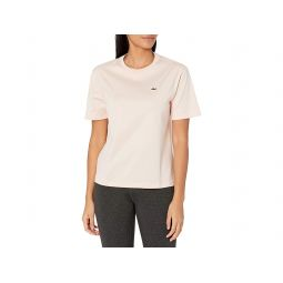 Lacoste Womens Short Sleeve Boxy Fit Jersey T-shirt