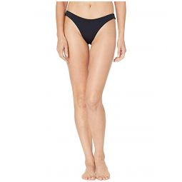 Solid Beach Classics Regular High Leg Swim Bottoms