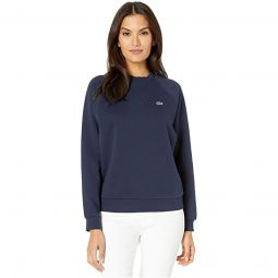 Long Sleeve French Terry Motion Crew Neck