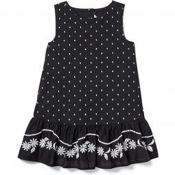 Embroidered Dress (Toddler/Little Kids/Big Kids)