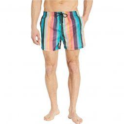 Artist Stripe Swim Shorts