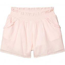 Gauze Shorts (Toddler/Little Kids/Big Kids)