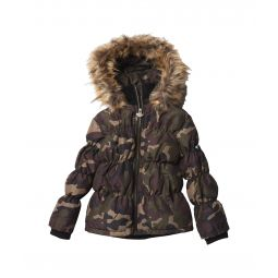 Base Camp Puffer w/ Detachable Faux Fur Hood (Toddler/Little Kids/Big Kids)