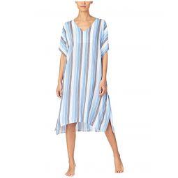 Viscose Sleepwear Plain Weave Caftan
