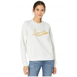 Lacoste Long Sleeve Lacoste Graphic Sweatshirt