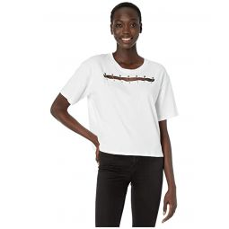 T-Shirt with Pin Openings on Chest