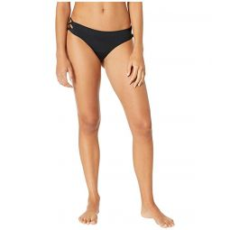 Solid Beach Classics Lace-Up Full Swim Bottoms