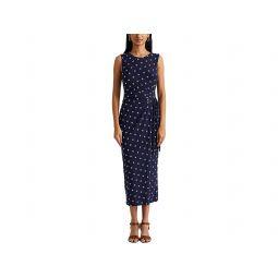 LAUREN Ralph Lauren Print Jersey Midi Dress
