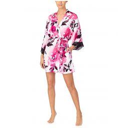 Donna Karan Charmeuse Sleepwear Short Robe