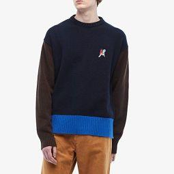 MARNI Wool Block Color Sweater