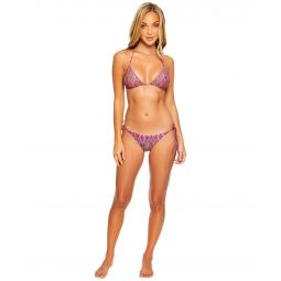 Vamos A Cabos Ruched Back Brazilian Tie Side Bottoms