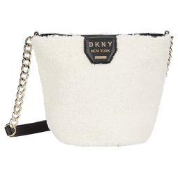DKNY Sherpa Bucket Crossbody