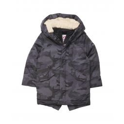 Himalaya Down Coat w/ Shearling Hood (Toddler/Little Kids/Big Kids)
