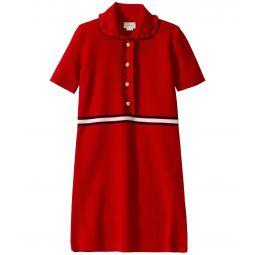 Gucci Kids GG Polo Short Sleeve Dress (Little Kids/Big Kids)
