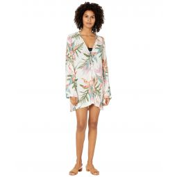 Hana Lace-Up Cover-Up
