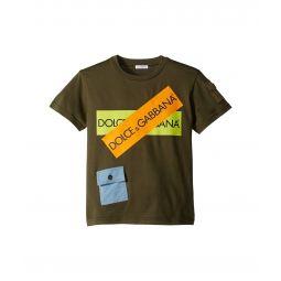 Dolce & Gabbana Kids D&G Army Logo T-Shirt (Big Kids)