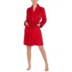 LAUREN Ralph Lauren Short Shawl Collar So Soft Robe