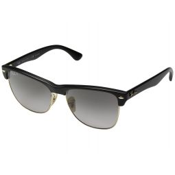 RB4175 Oversized Clubmaster 57mm - Polarized