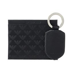 Emporio Armani Card Holderu002FKey Chain Gift Set