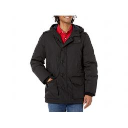 Tommy Hilfiger Polytwill Full Length Hooded Parka