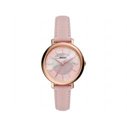 Fossil Jacqueline Solor Three-Hand Leather Watch ES5092