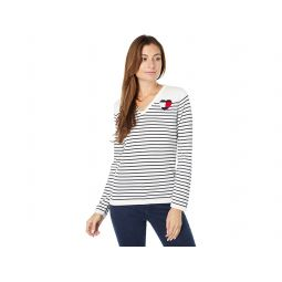 Tommy Hilfiger Striped Global Heart Ivy Sweater