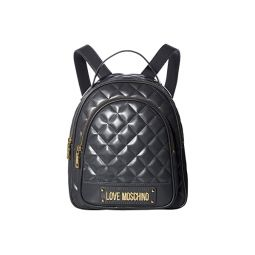 Shinny Quilted Backpack