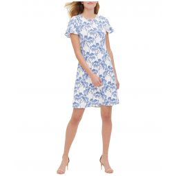 Nantucket Blossom Jersey A-Line Dress