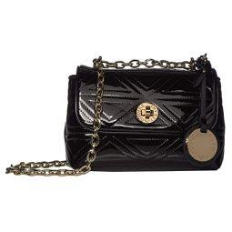 Quilted Chain Detail Shoulder Bag
