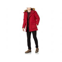 Arctic Cloth Full Length Quilted Snorkel Jacket (Regular and Big and Tall Sizes)