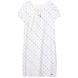 Tommy Hilfiger Lana Anchor Lace-Up Shirtdress