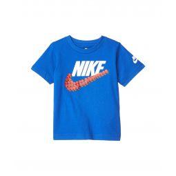 Short Sleeve Smile Swoosh Graphic T-Shirt (Toddler)