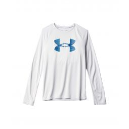 Tech Logo Fill Long Sleeve (Big Kids)